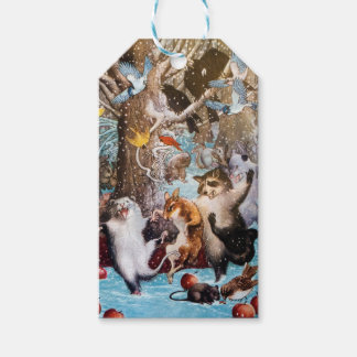 Christmas in the Woods Gift Tag