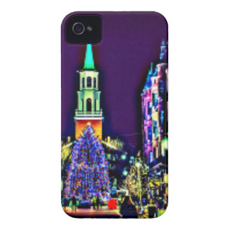 Christmas in town Case-Mate iPhone 4 case