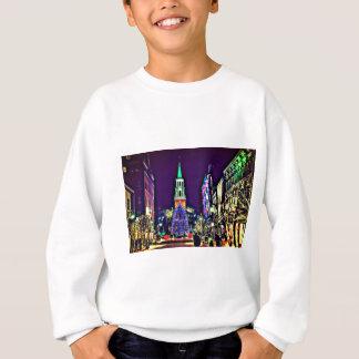 Christmas in town sweatshirt