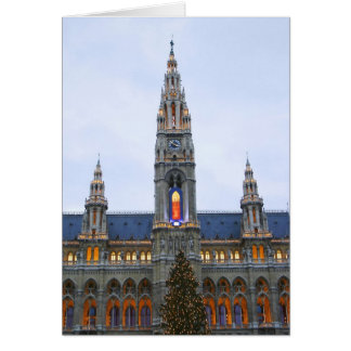 Christmas In Vienna Card