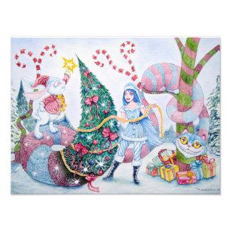 """Christmas in Wonderland"" Photographic Print"