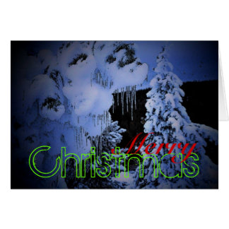 Christmas in Yellowstone Card