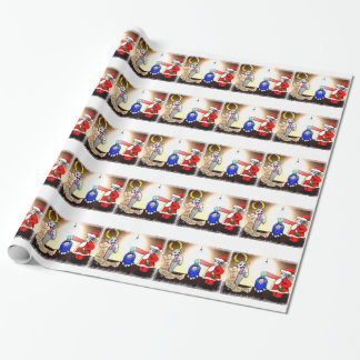 Christmas Interrogation Wrapping Paper