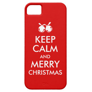 Christmas iphone 5s Case Keep Calm Jingle Bells iPhone 5 Covers
