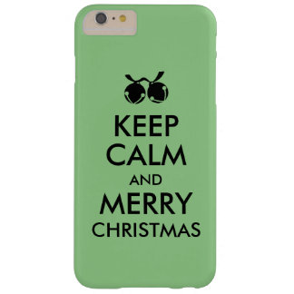 Christmas iphone 6 Case Keep Calm and Jingle Bells Barely There iPhone 6 Plus Case