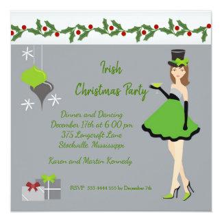 Christmas Irish Party Card