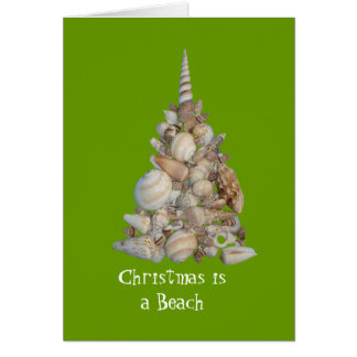 Christmas is a Beach Card