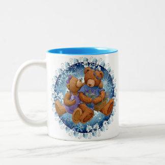 christmas is coming Two-Tone coffee mug