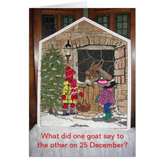 Christmas is for the kids card