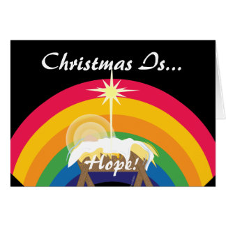 Christmas Is Hope!-Customize Card