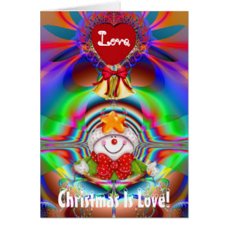 Christmas Is Love Greeting Card