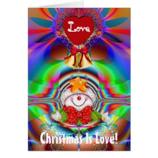 Christmas Is Love Greeting Card