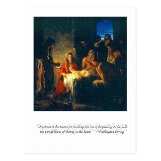 """""""Christmas is the season"""" Postcard"""