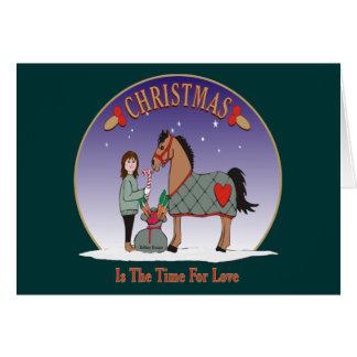 Christmas Is The Time For Love Card