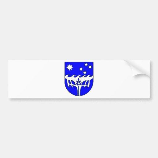 Christmas Island (Australia) Coat of Arms Bumper Sticker