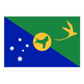 Christmas Island (Australia) Flag Postcard