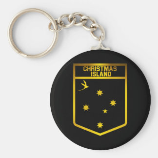 Christmas Island Emblem Key Ring