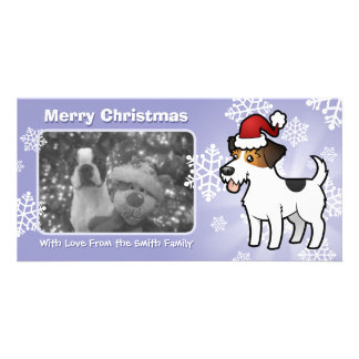Christmas Jack Russell Terrier Photo Card