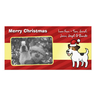 Christmas Jack Russell Terrier Picture Card