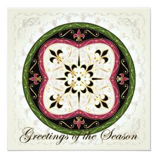 Christmas Jetons Card