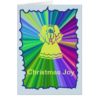 Christmas Joy Angel Card