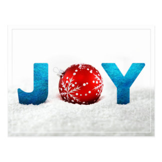 Christmas Joy Postcard