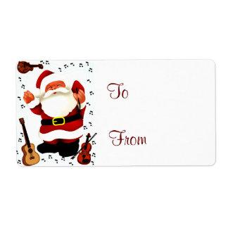 Christmas Joy_ Shipping Label