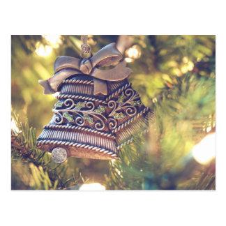 christmas joy time postcard