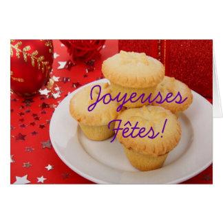 Christmas Joyeuses Fêtes et bonne année II Greeting Card
