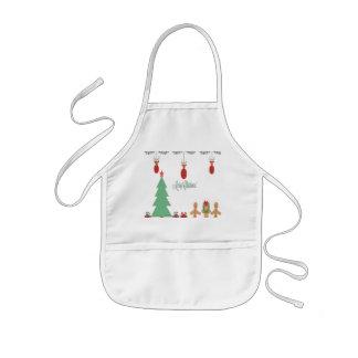 Christmas kids apron