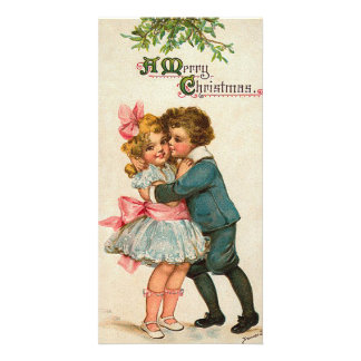Christmas Kiss Personalised Photo Card