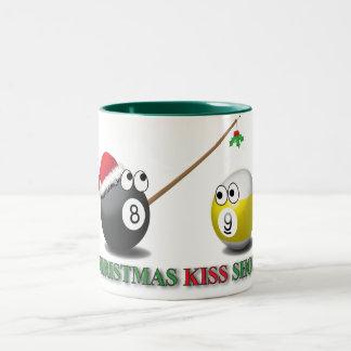 Christmas Kiss Shot mug