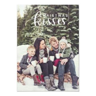 Christmas kisses card