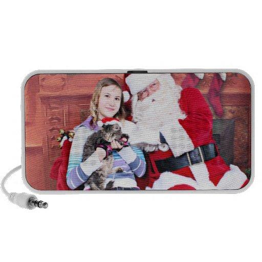 Christmas - Kitten Speaker System
