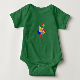 Christmas Kitty Baby Bodysuit