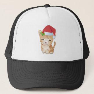 Christmas Kitty Cat Gift Baseball Hat