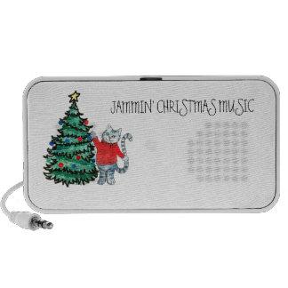 Christmas kitty travel speakers