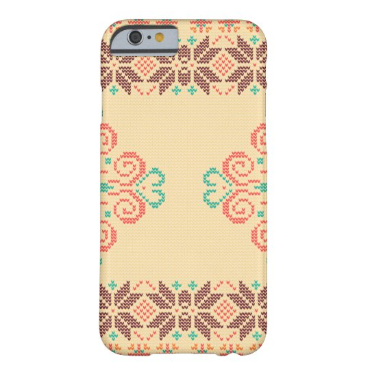 Christmas knitted pattern barely there iPhone 6 case
