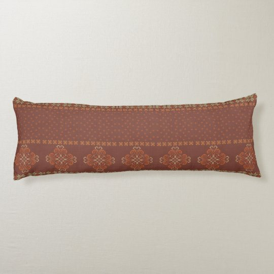 Christmas knitted pattern body cushion