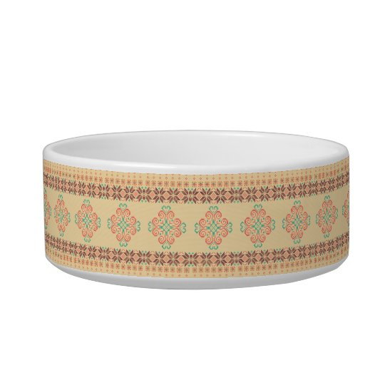 Christmas knitted pattern bowl