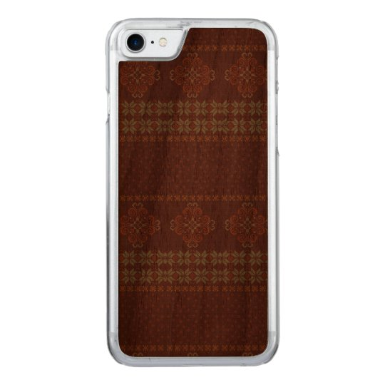 Christmas knitted pattern carved iPhone 8/7 case