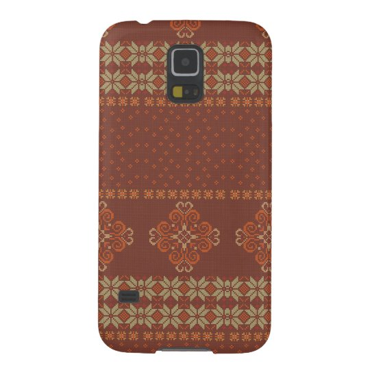 Christmas knitted pattern case for galaxy s5