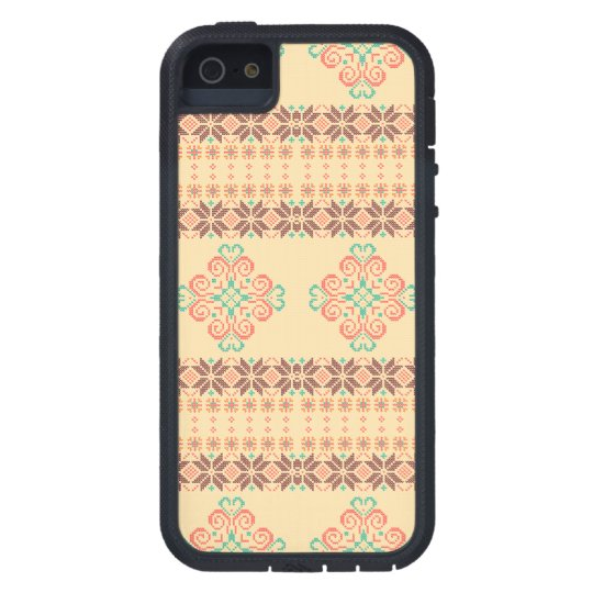 Christmas knitted pattern case for the iPhone 5