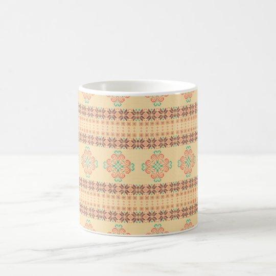 Christmas knitted pattern coffee mug