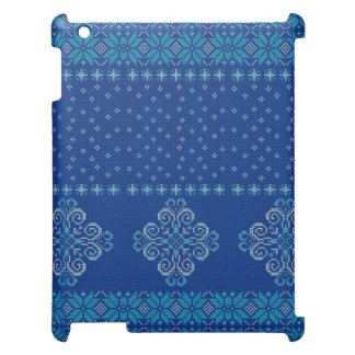 Christmas knitted pattern cover for the iPad 2 3 4