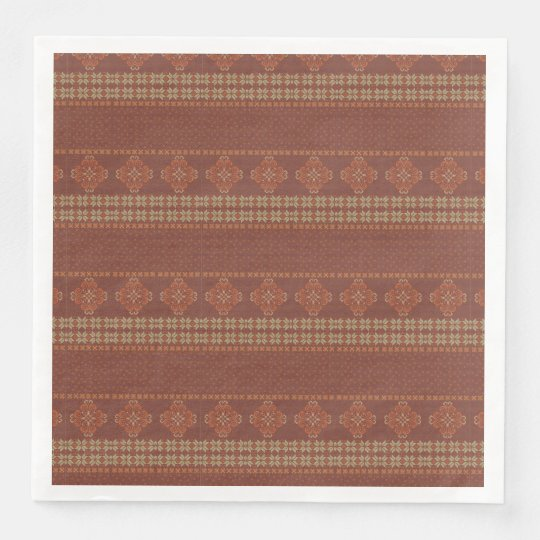 Christmas knitted pattern disposable napkins