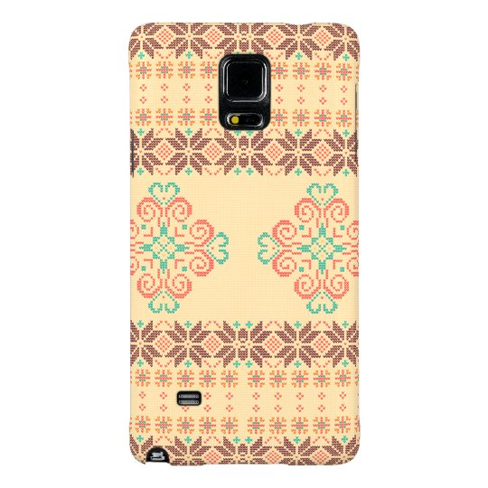 Christmas knitted pattern galaxy note 4 case