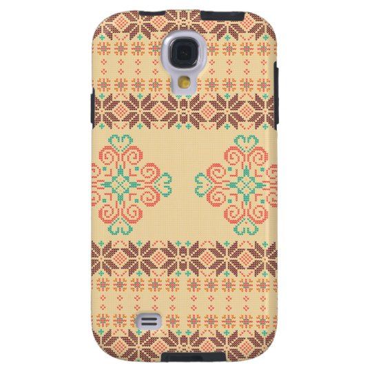 Christmas knitted pattern galaxy s4 case