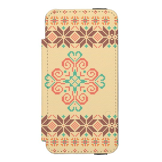 Christmas knitted pattern incipio watson™ iPhone 5 wallet case