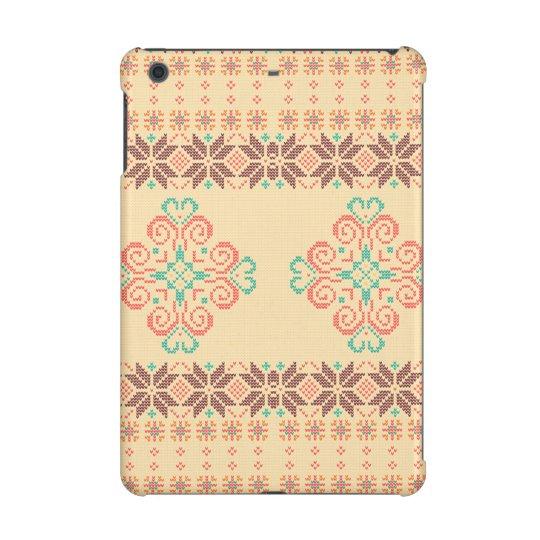 Christmas knitted pattern iPad mini case